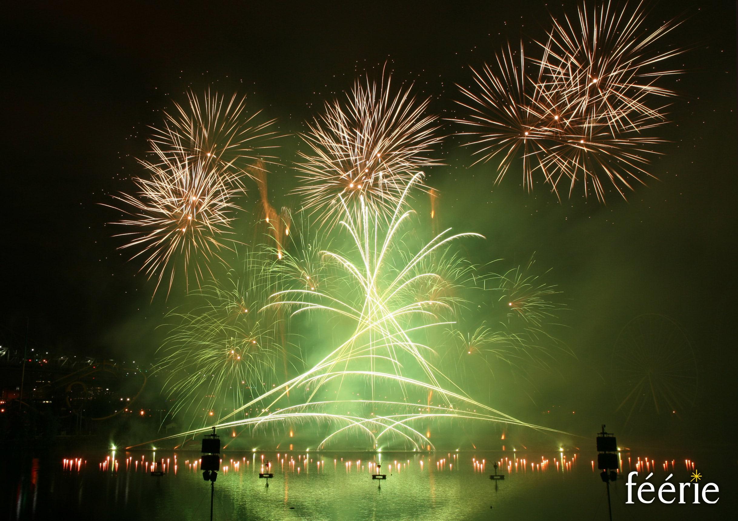 Photo feu d'artifice Montréal