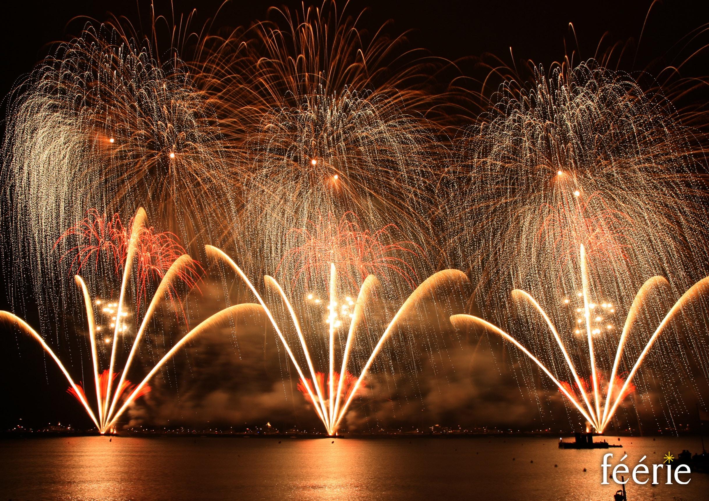 Photo feu d'artifice Cannes