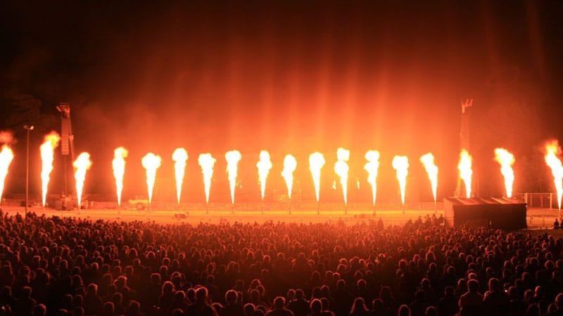Générateurs de flammes