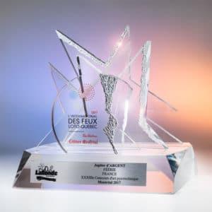 Prix Jupiter d'Argent aux Feux-Loto Québec de Montréal