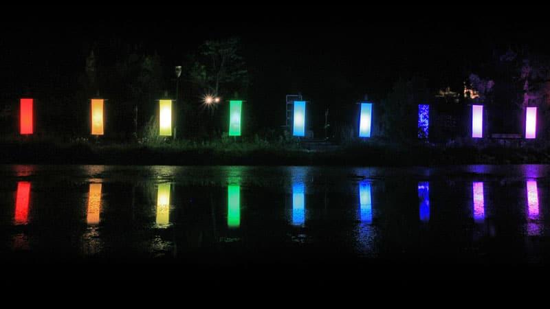 Totems lumineux